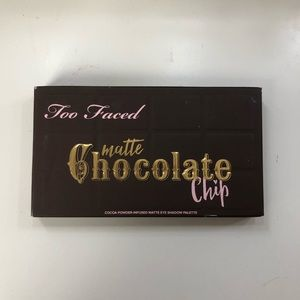 Too Faced Matte Chocolate Chip Palette